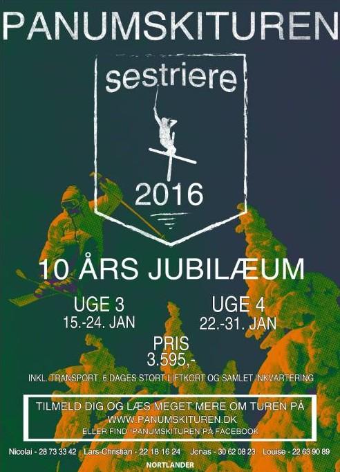 Plakat med info
